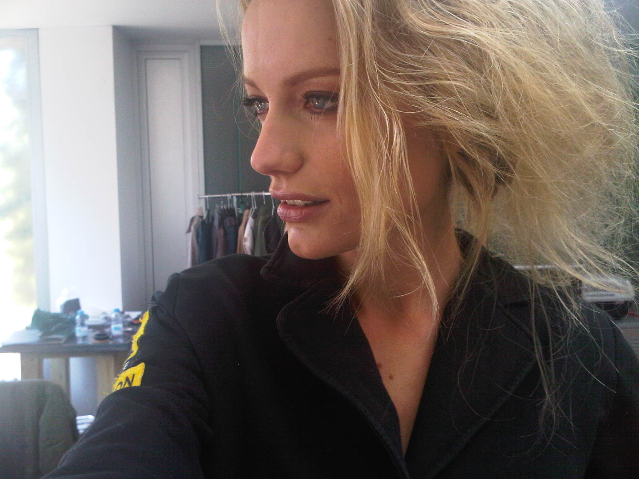Renata Zanchi - Make-up done! Waiting for the final touch on my hair!