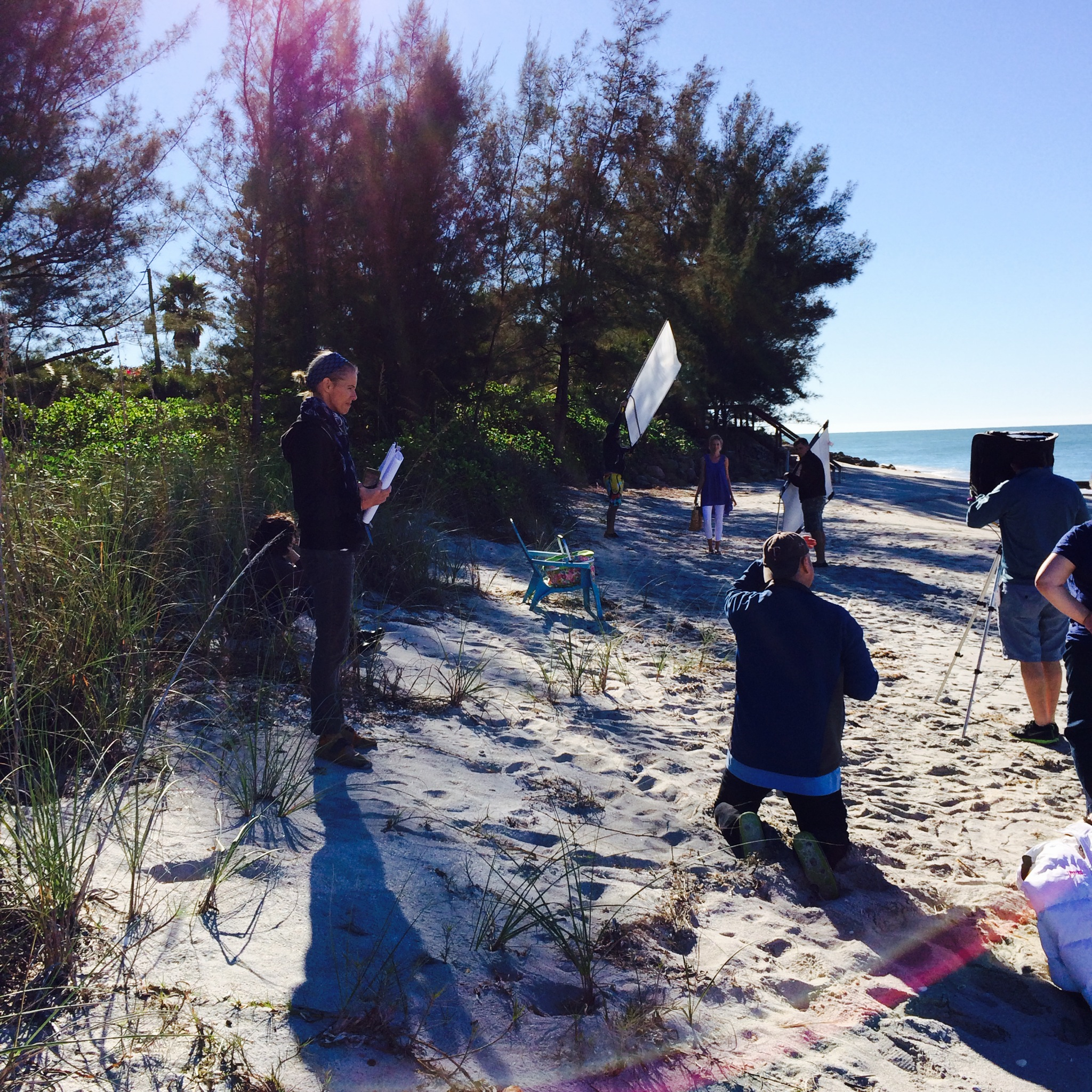 """Renata Zanchi shooting in Sarasota, Florida."""