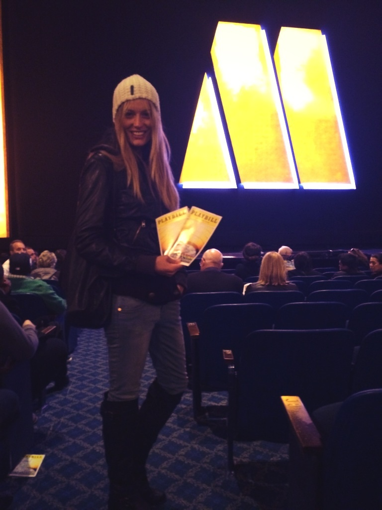 """Waiting for Motown Musical to begin. Pure energy, loved it! #Broadway"""