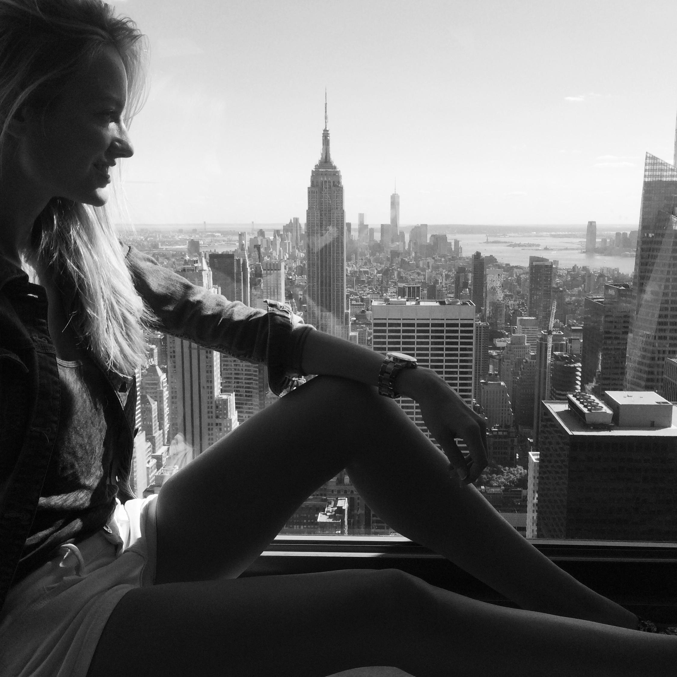 """""""NY under my feet❤"""""""