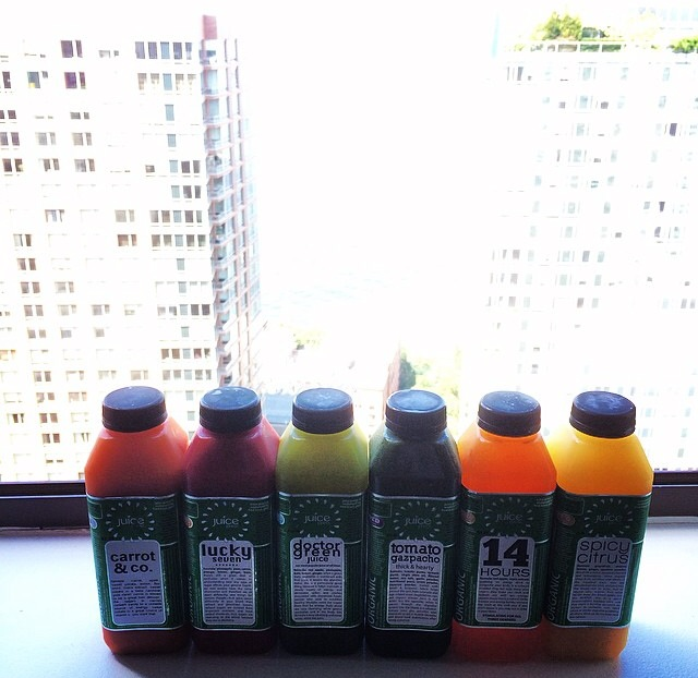 """Only the brave!! #JuiceCleanse 100% Willpower."""