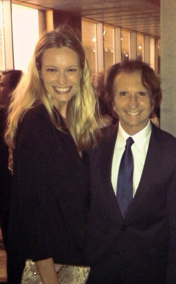 With the F1 legend Emerson Fittipaldi.