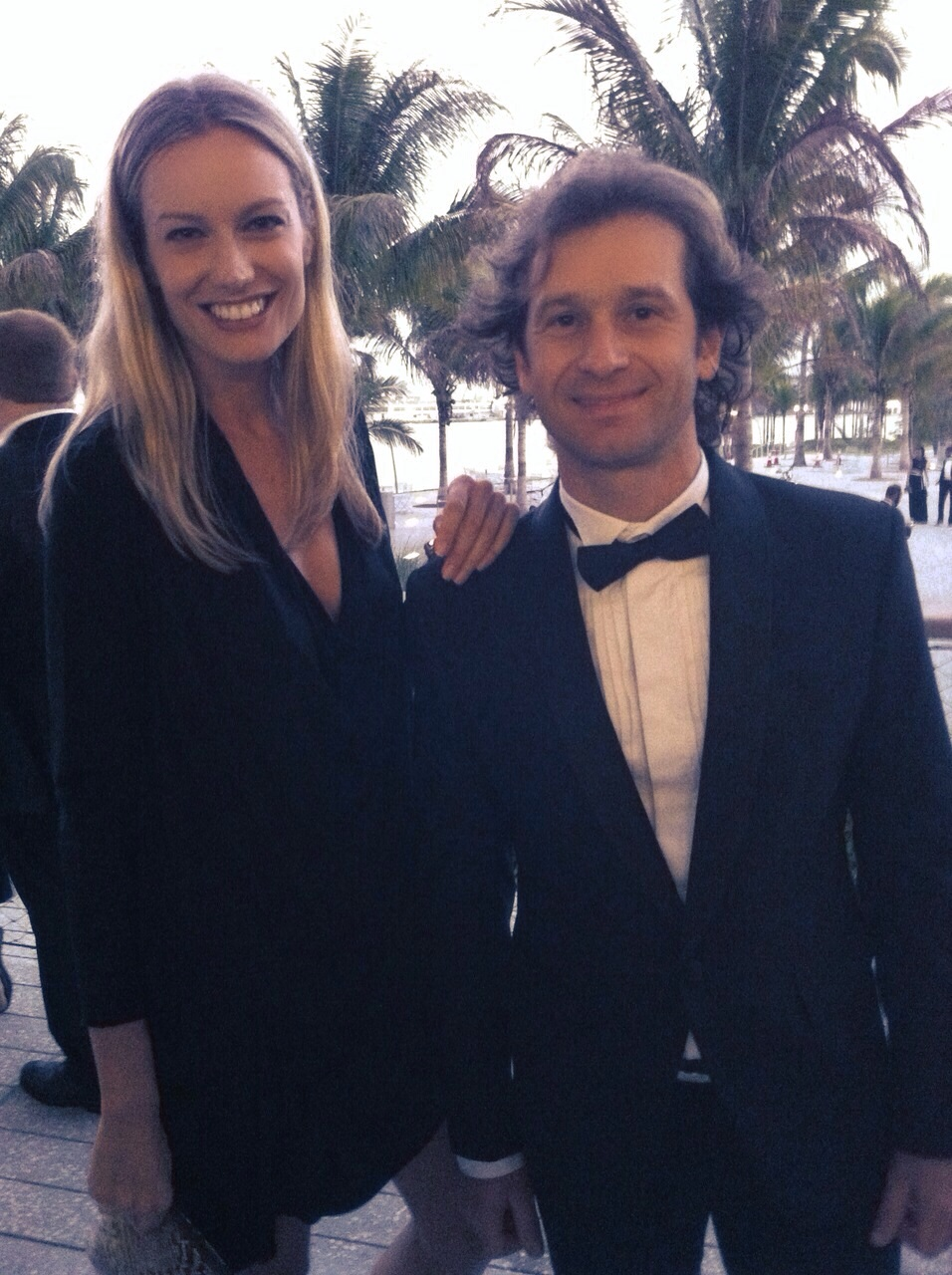 So happy to meet the Italian pilot Jarno Trulli!