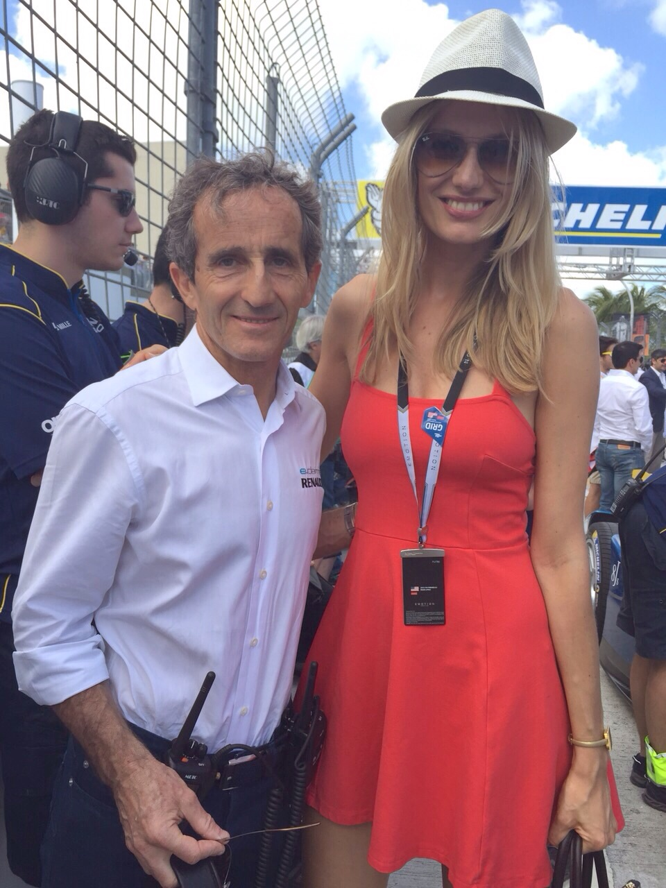 Do you remember him on the circuit? Amazing Alan Prost.