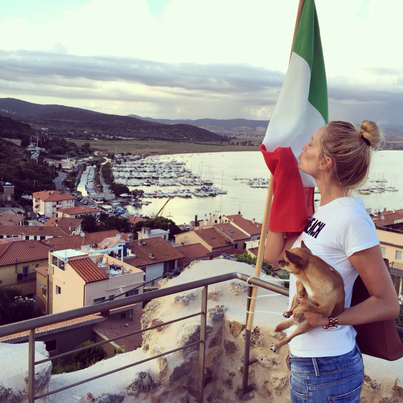 Italia, ti ho ed avrò sempre nel cuore. Italy, I have and will always have you in my heart. #Talamone